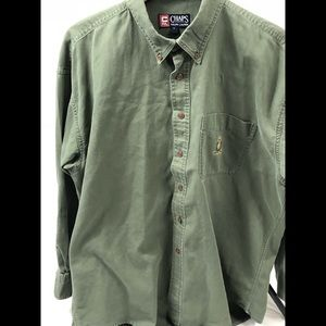 🐸Ralph Lauren 🐸polo Chaps button down L/S shirt